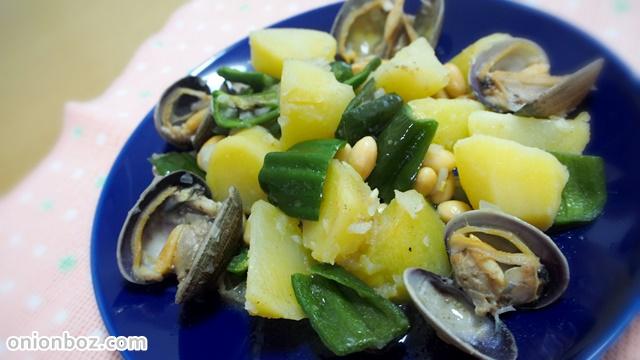 ジャガイモと大豆のアレンテジャーナ風