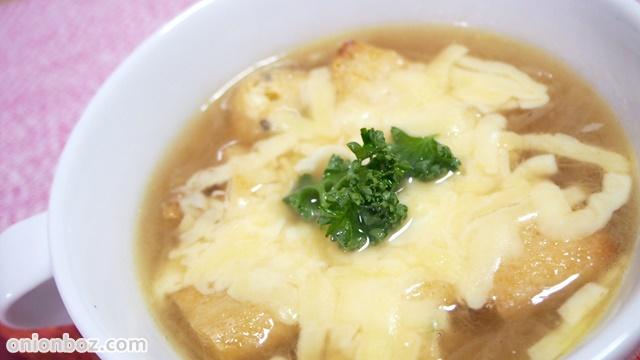 がんもDEオニオングラタンスープ☆