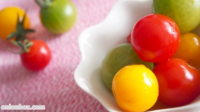 トマトのだし漬け