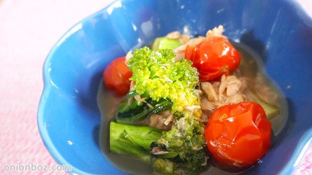 ぱぱっと♪ブロッコリーとツナのサッと煮☆